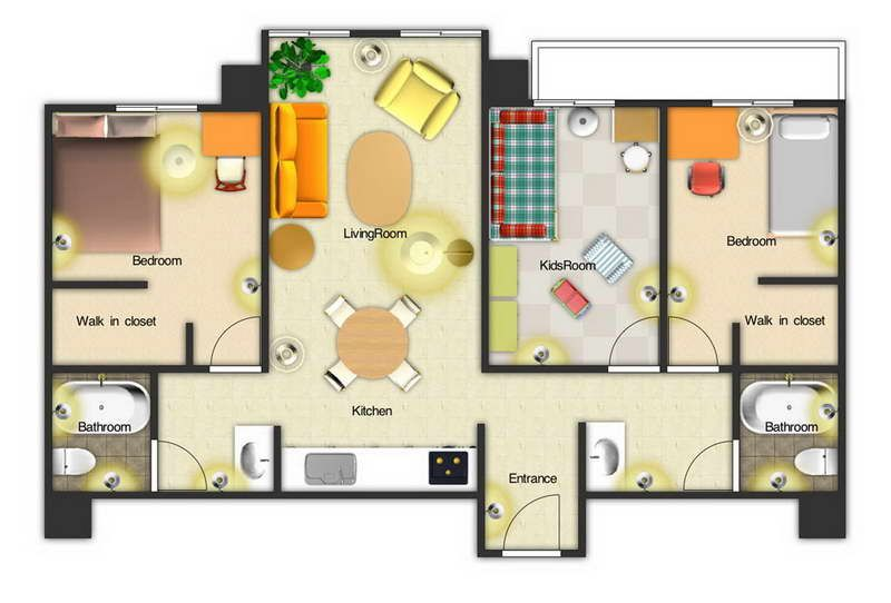 Free Floor Plan Maker With Kids Room Interior Decor - Decorstate - fresh blueprint maker website