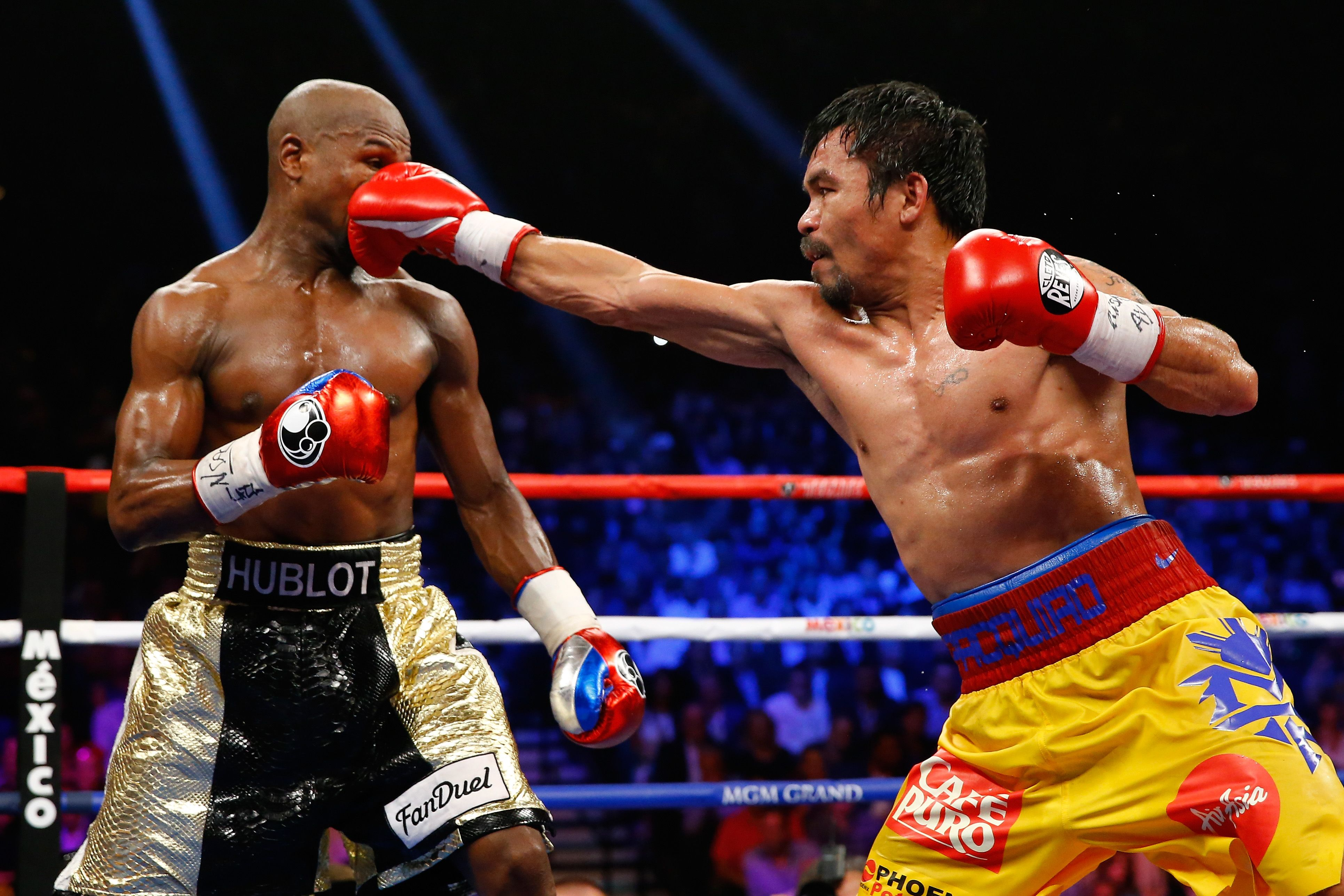 Pin by H Park on Boxing Boxing highlights, Manny