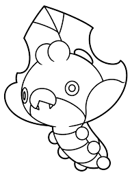 pokemon litwick coloring pages - photo#19