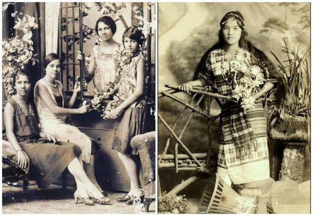 Adolescentes vintage de Filipinas