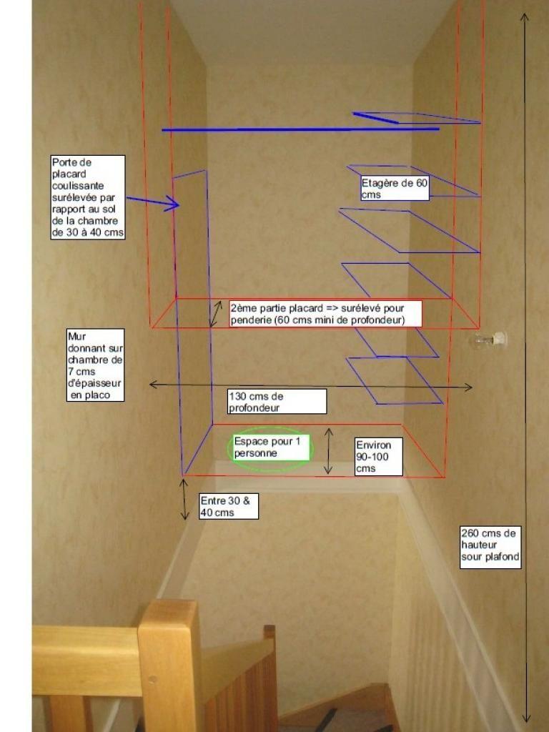 fixer 1 placard dans le vide dune cage descalier entre 2 murs - Decoration De Cage D Escalier