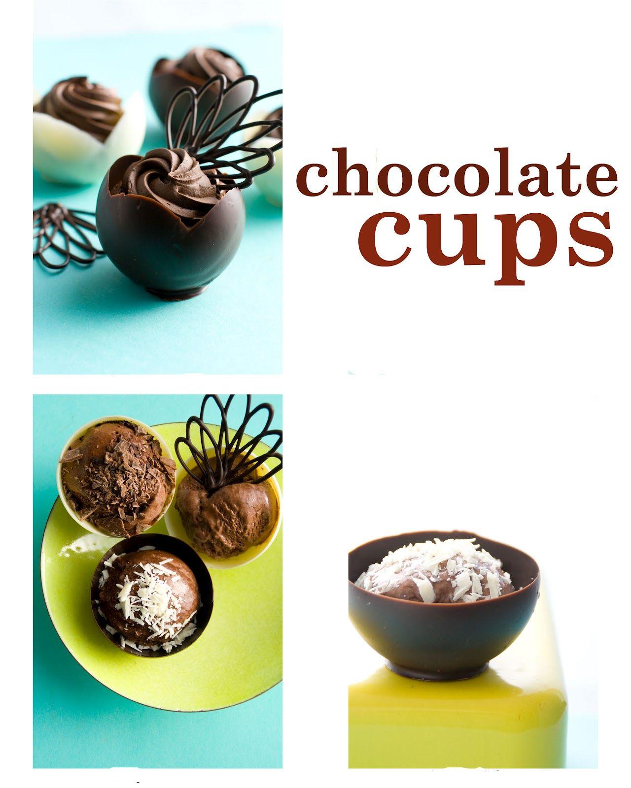 how to make a chocolate garnish