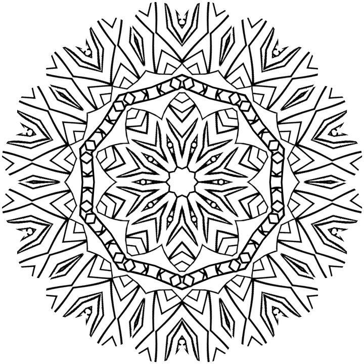 mandala-1230756_960_720.jpg (720×720) | 2 segundo grado | Pinterest ...