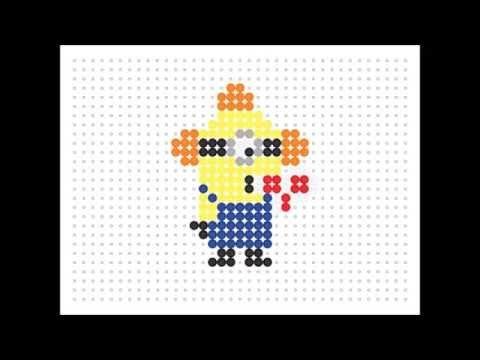 Hama Bead Fire Alarm Minion (Minion Series #2) - YouTube