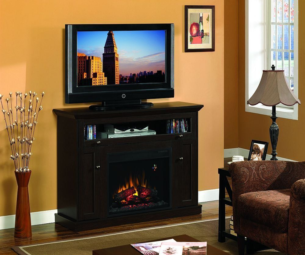 Classic Flame Windsor Corner Fireplace Tv Stand In Oak Espresso It Really Is A Corner Unit