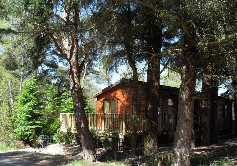Loch Garten Lodges Consists Of Luxury Self Catering Lodge