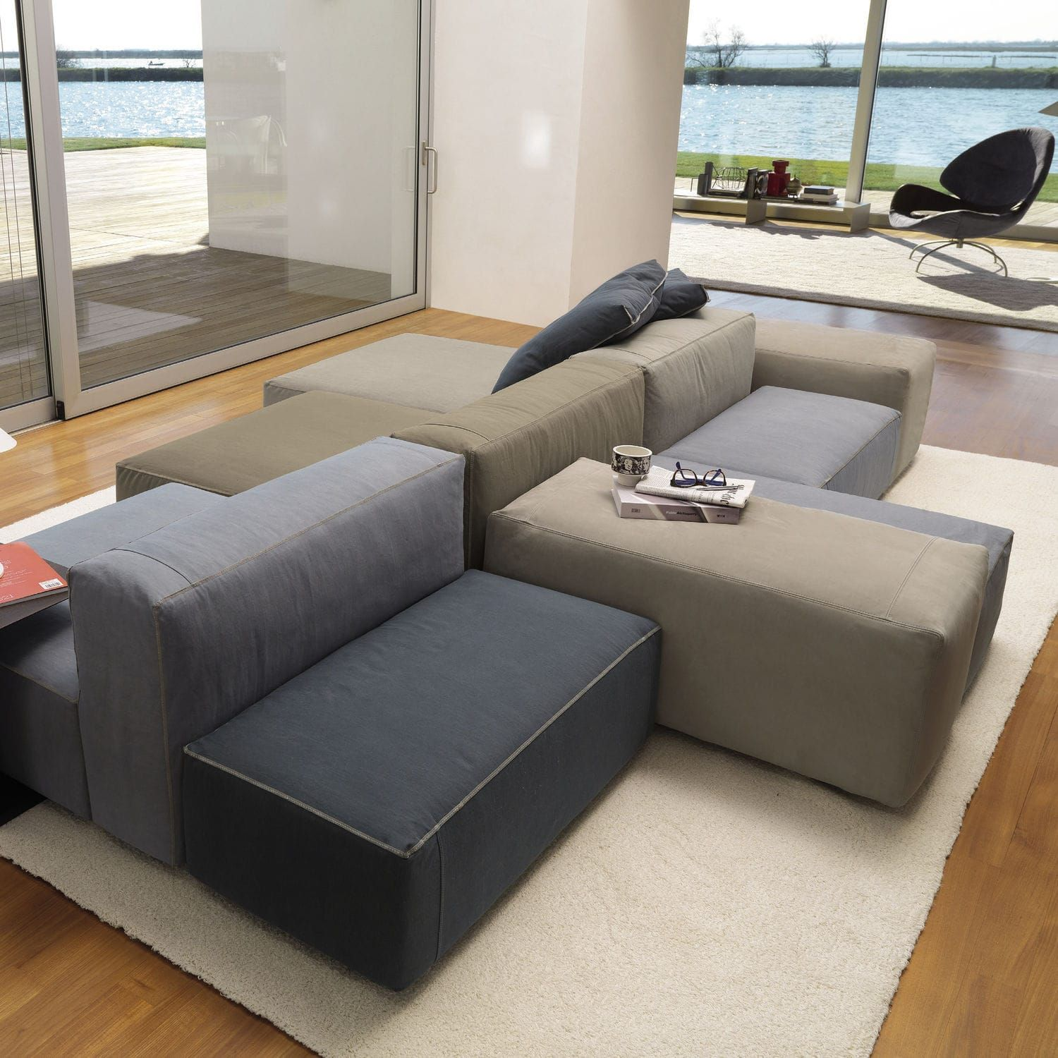 Modular Sofa Leather Sectional Sofas Modular Sofa Leather