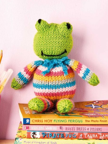 Frog Toy | Knitting patterns free, Knitting patterns toys ...
