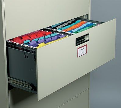 Superieur HON Double Rail Hanging File Conversion Racks For Lateral Files. Filing  Cabinets ...