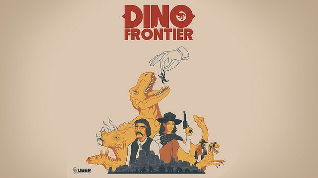 Dino Frontier Revealed for PS VR #Playstation4 #PS4 #Sony