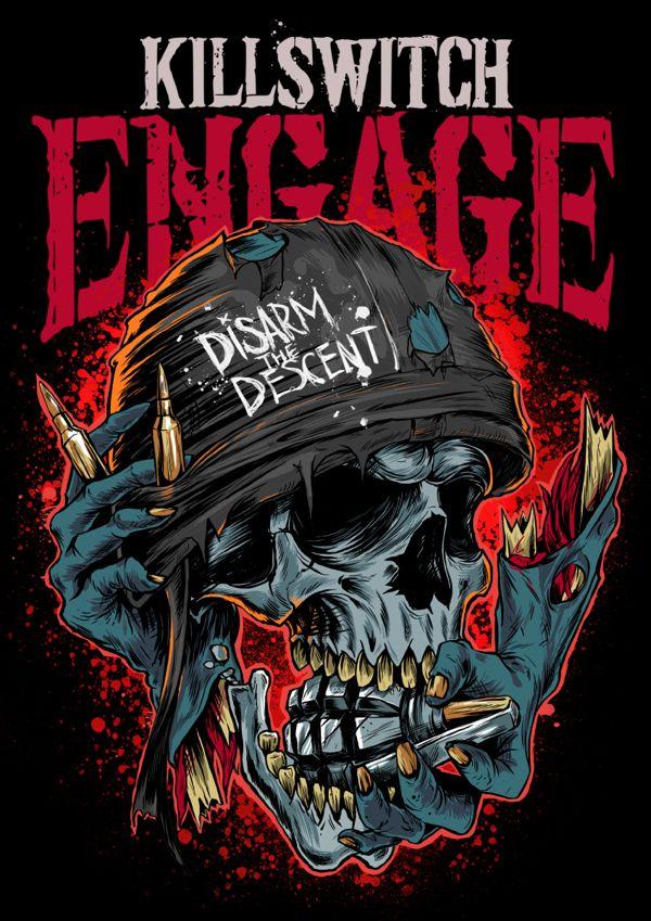Metalcore Band Shirt Designer
