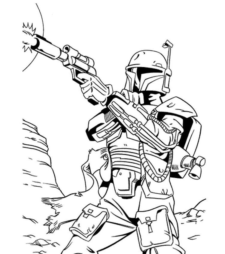 Print Star Wars Coloring Pages Bounty Hunter Or Download Star Wars Az Coloring Pages Birthday Coloring Pages Abc Coloring Pages Halloween Coloring