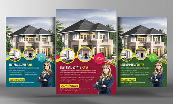 Real Estate Flyer Template Free PSD AI Vector EPS Format - Real estate brochure template free download