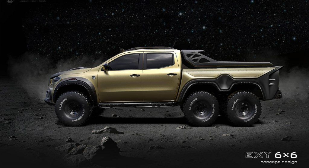 Carlex S Outlandish 6 6 Mercedes Benz X Class Is Ready For The