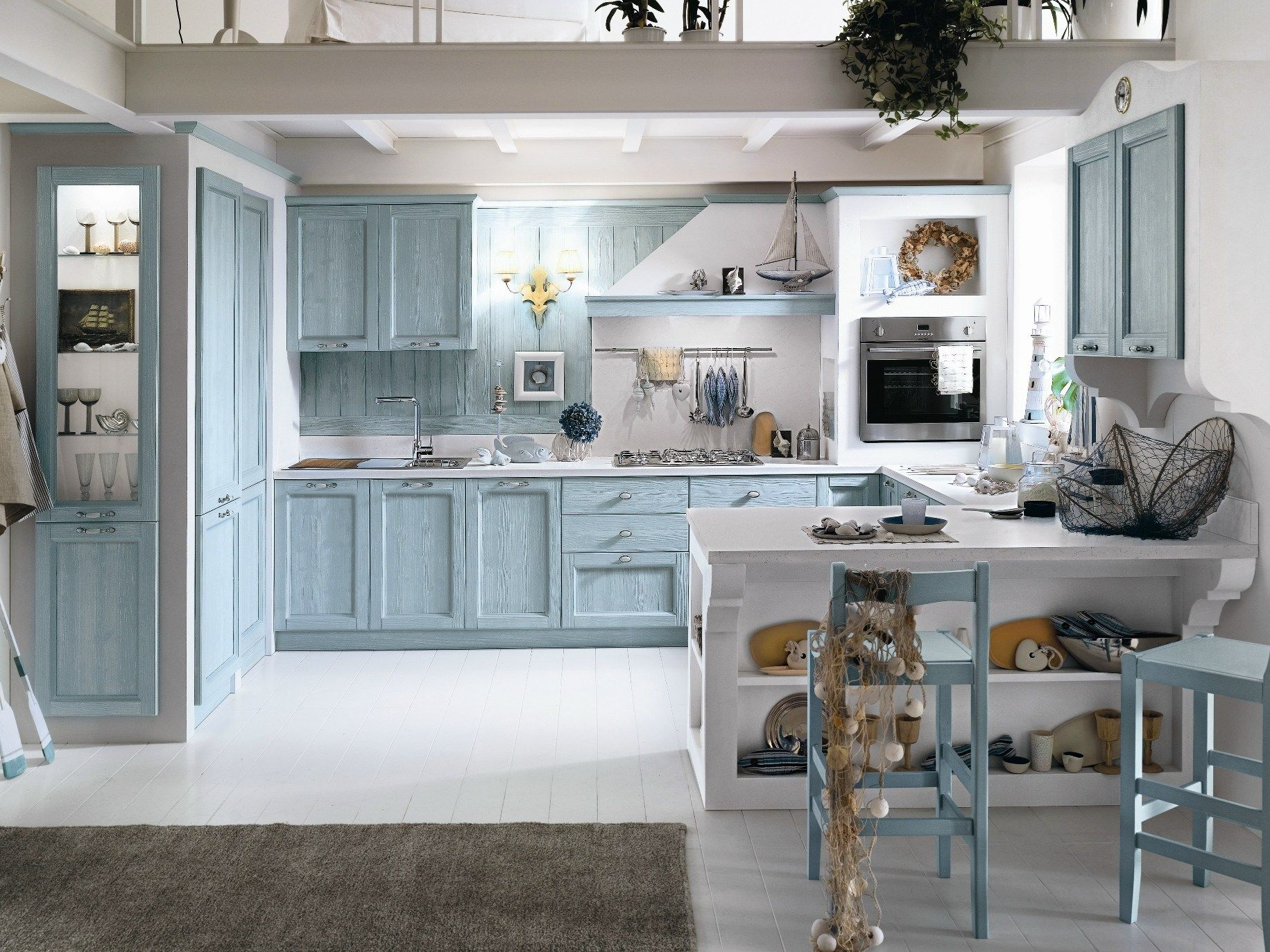 EVERY DAY Kitchen with peninsula by Callesella Arredamenti | kitchen ...