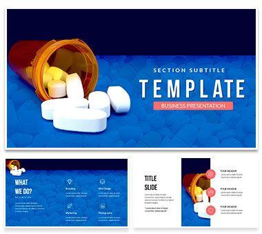 Vitamin supplements powerpoint template pinterest template vitamin supplements powerpoint templates toneelgroepblik Images