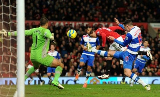 Soccer Fa Cup Fifth Round Manchester United V Reading Old Trafford Soccer Man Soccer Field