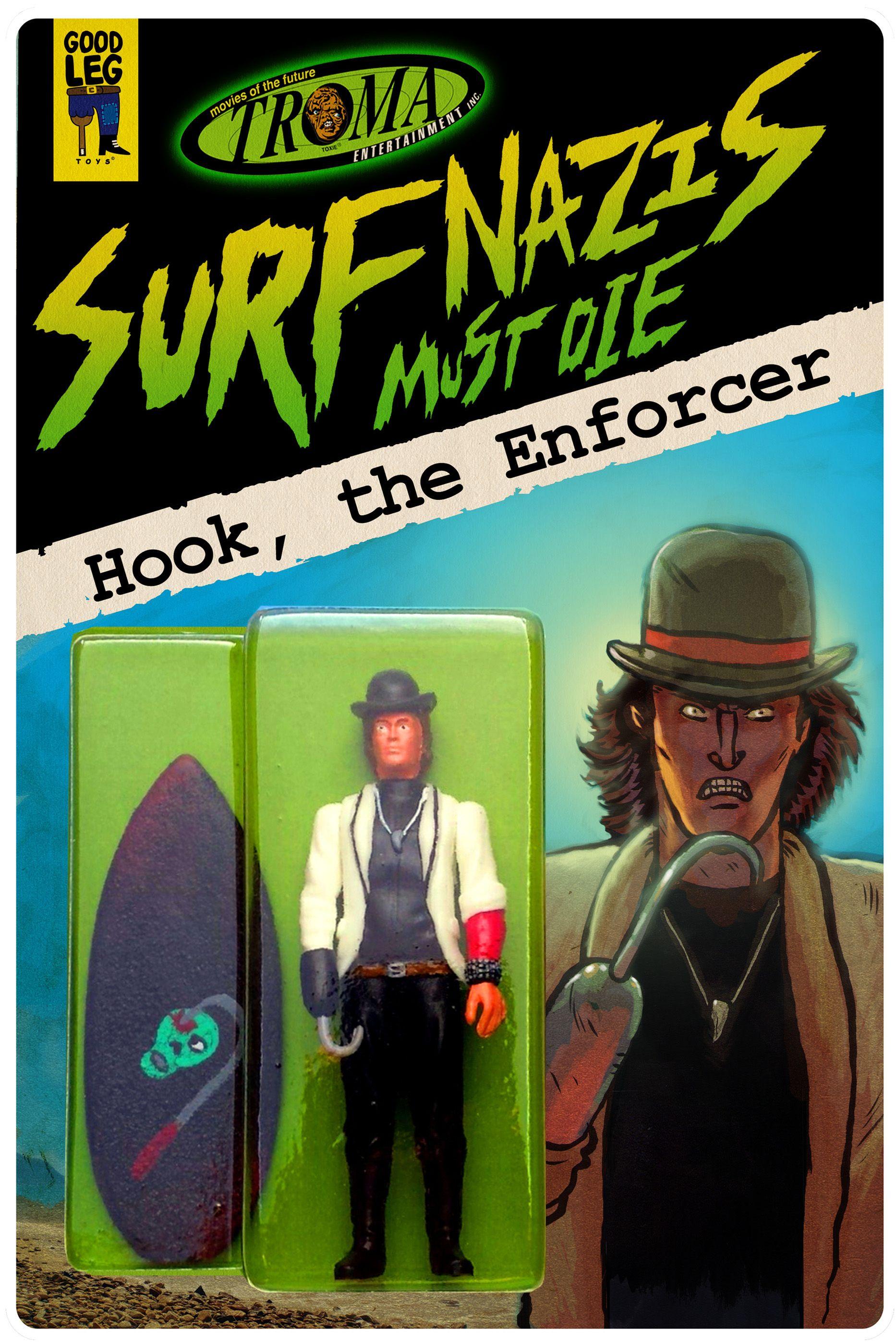 Surfer nazi must die