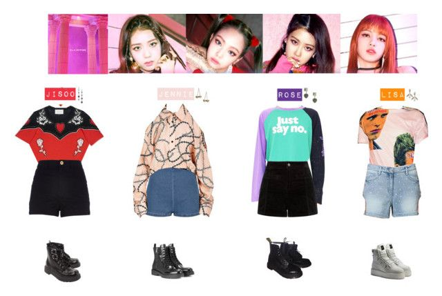 Designer Clothes Shoes Bags For Women Ssense Kpop Fashion Outfits Blackpink Fashion Kpop Outfits