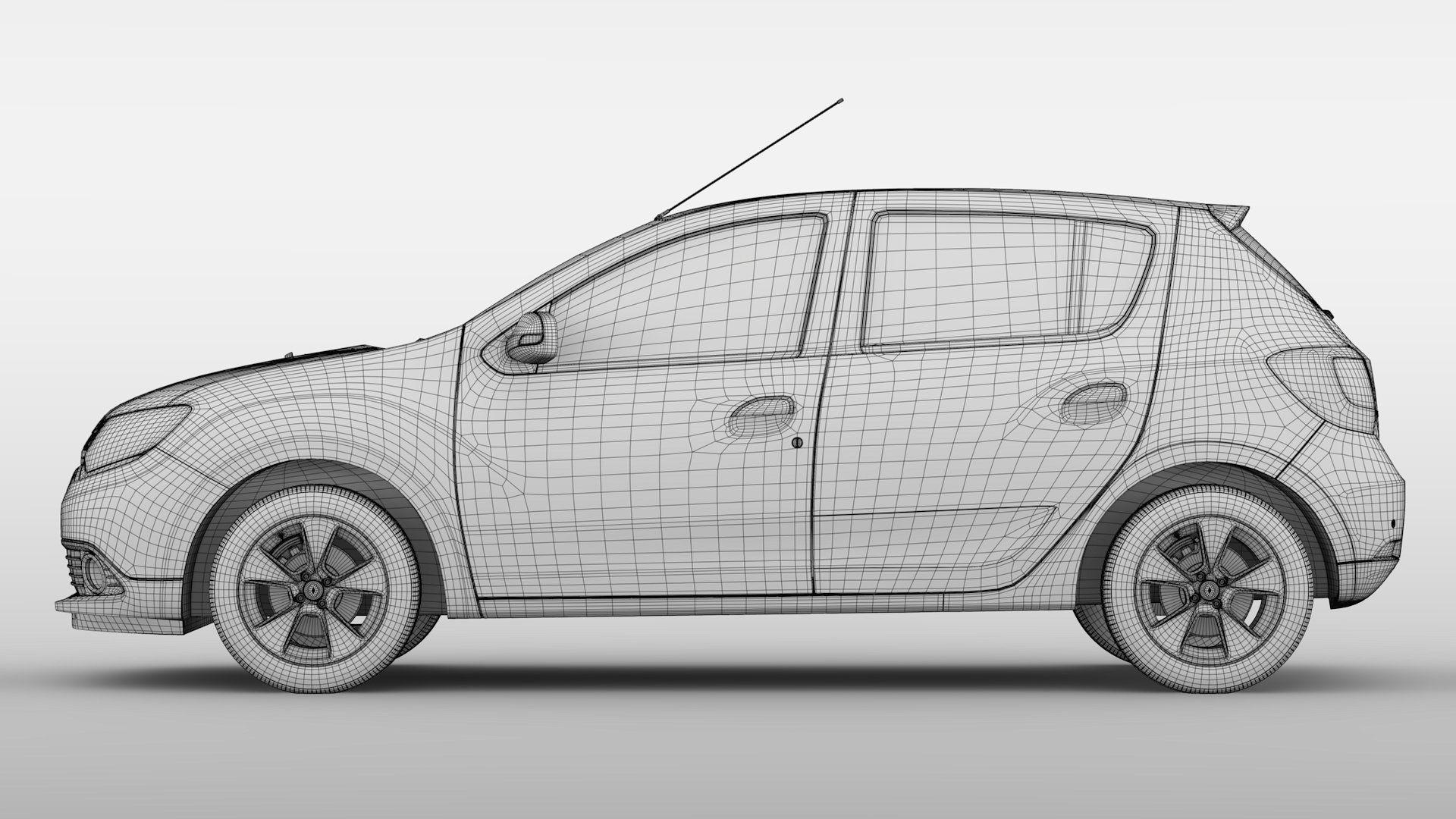 Renault Sandero 2015 Team Models Dacia Dacia Logan