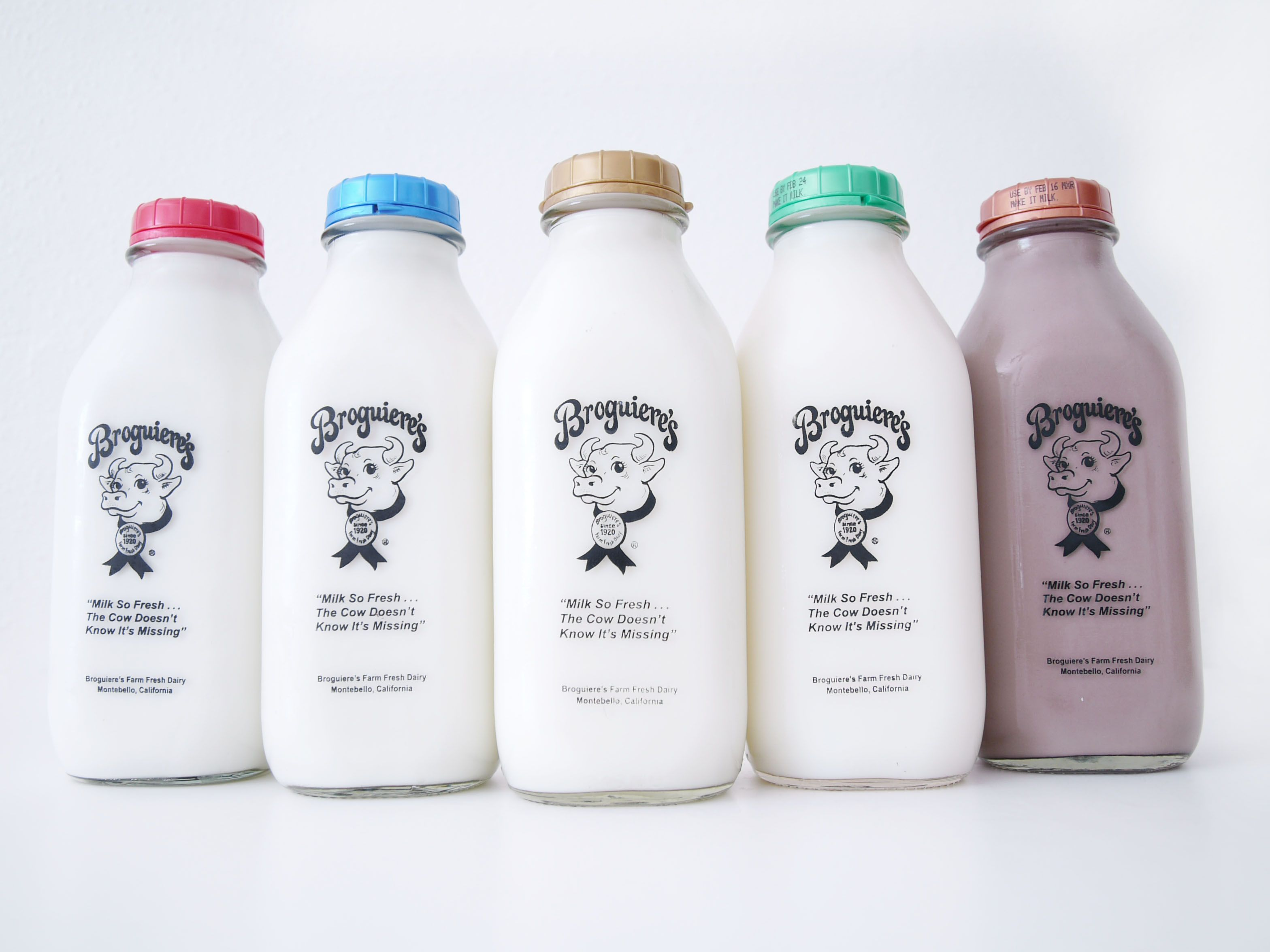 The BEST Chocolate Milk and Egg Nog.  Ever. | Broguiere's Dairy | 505 South Maple Avenue,  Montebello, California  90640
