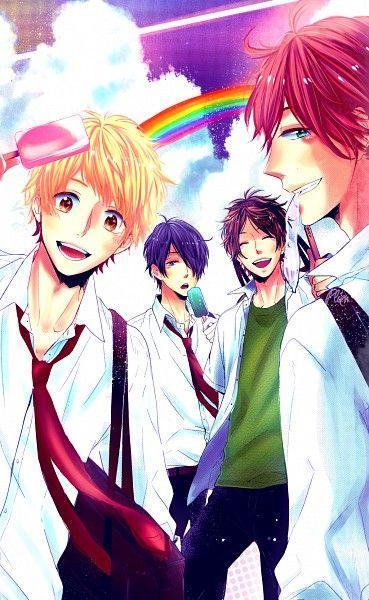 Anime/mangá: Nijiiro Days Eles são tão engraçados, hehe. E os casais? A coisa mais linda.