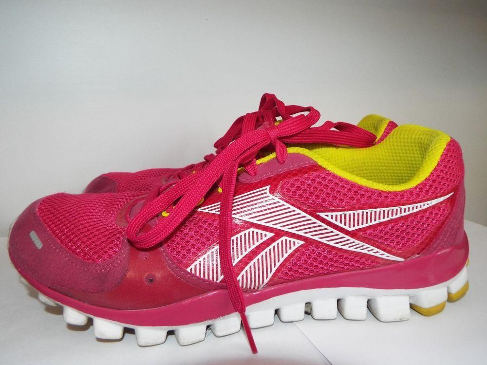 REEBOK REALFLEX TRANSITION PINK/WHITE/SUN ROCK WOMEN'S  size 8 #Reebok #RunningCrossTraining