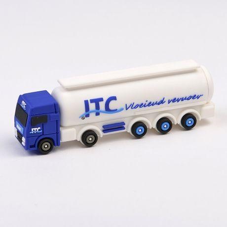 3D Truck Powerbank, ontwerp deze geheel naar uw eigen wens! vanaf 100 stuks