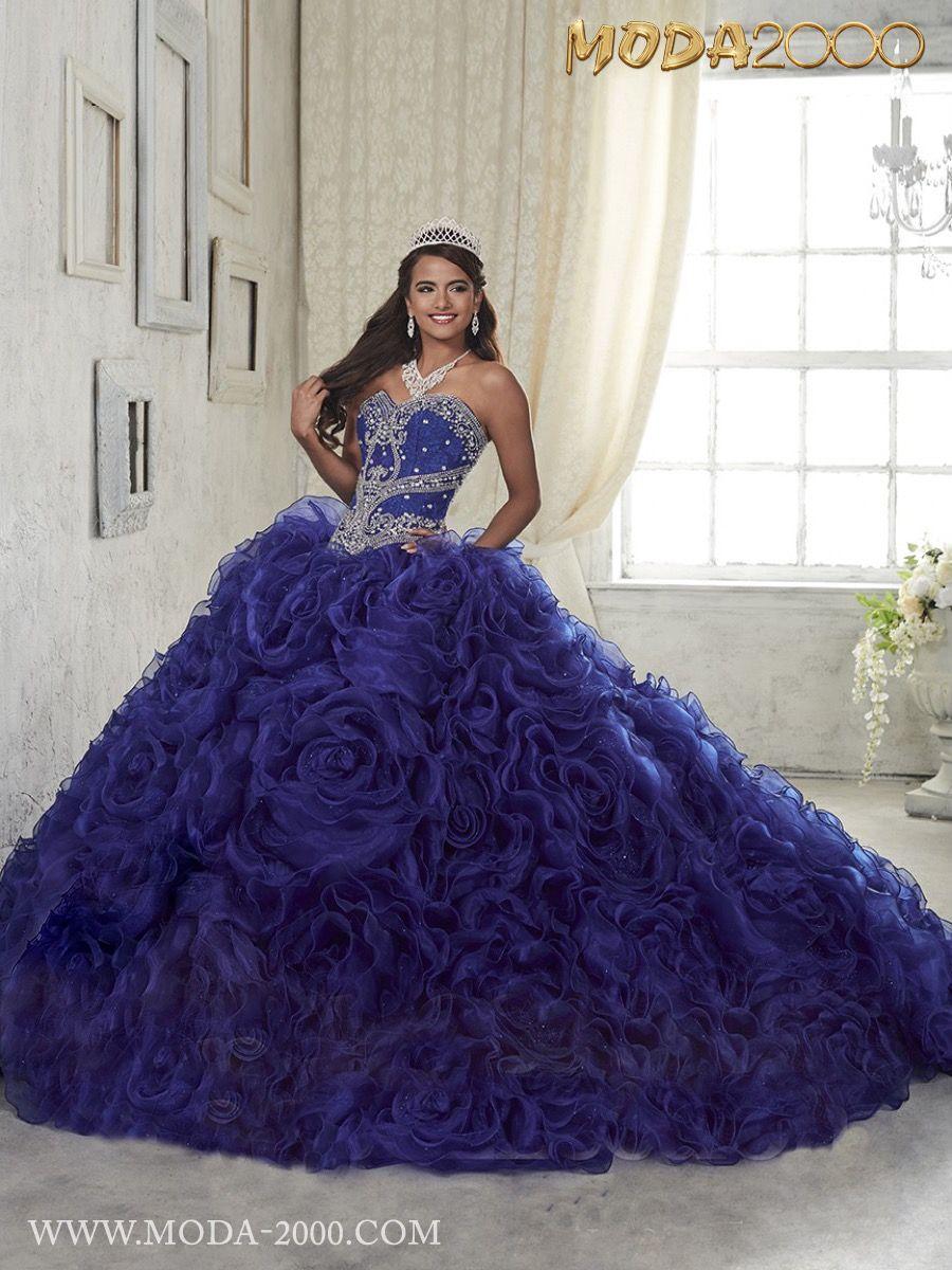 52ce17f2ffe MODA 2000 ELEGANT NAVY BLUE QUINCEANERA DRESS! Follow us on instagram for  daily updates  moda 2000
