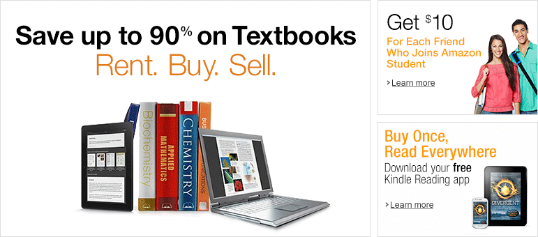 If You Re Sending A Kid Off To College You Need To Know About Amazon For Textbooks Save Up To 90 On Textbooks Rent Used Textbooks Textbook Sell Textbooks