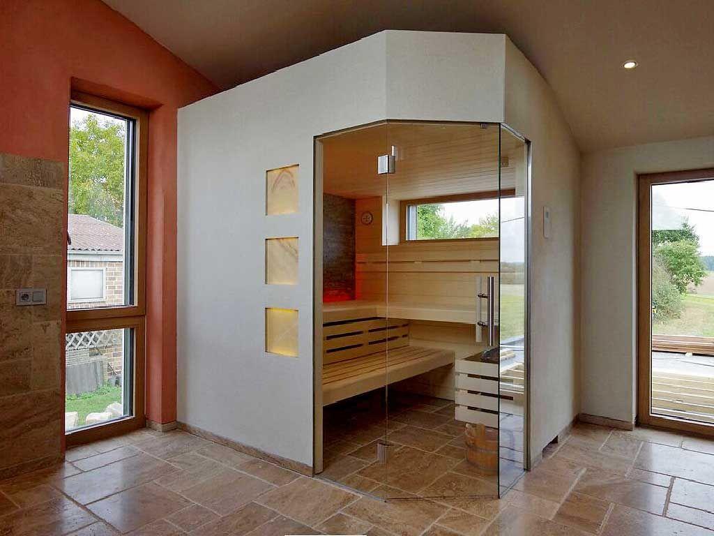 Glasfront Sauna, Luxuriös, Design, Transparent | Apart Sauna   Ihre  Individuell