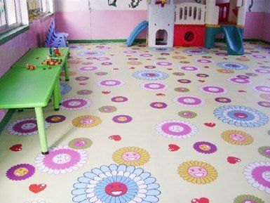 What A Cute Vinyl Floor For Your Kid S Room