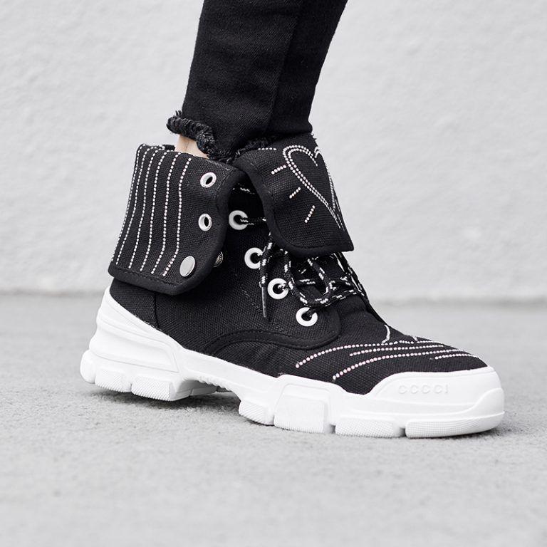 Chiko Brittney Metallic Sneaker Ankle Boots Ayakkabi Bot Ayakkabilar Bot