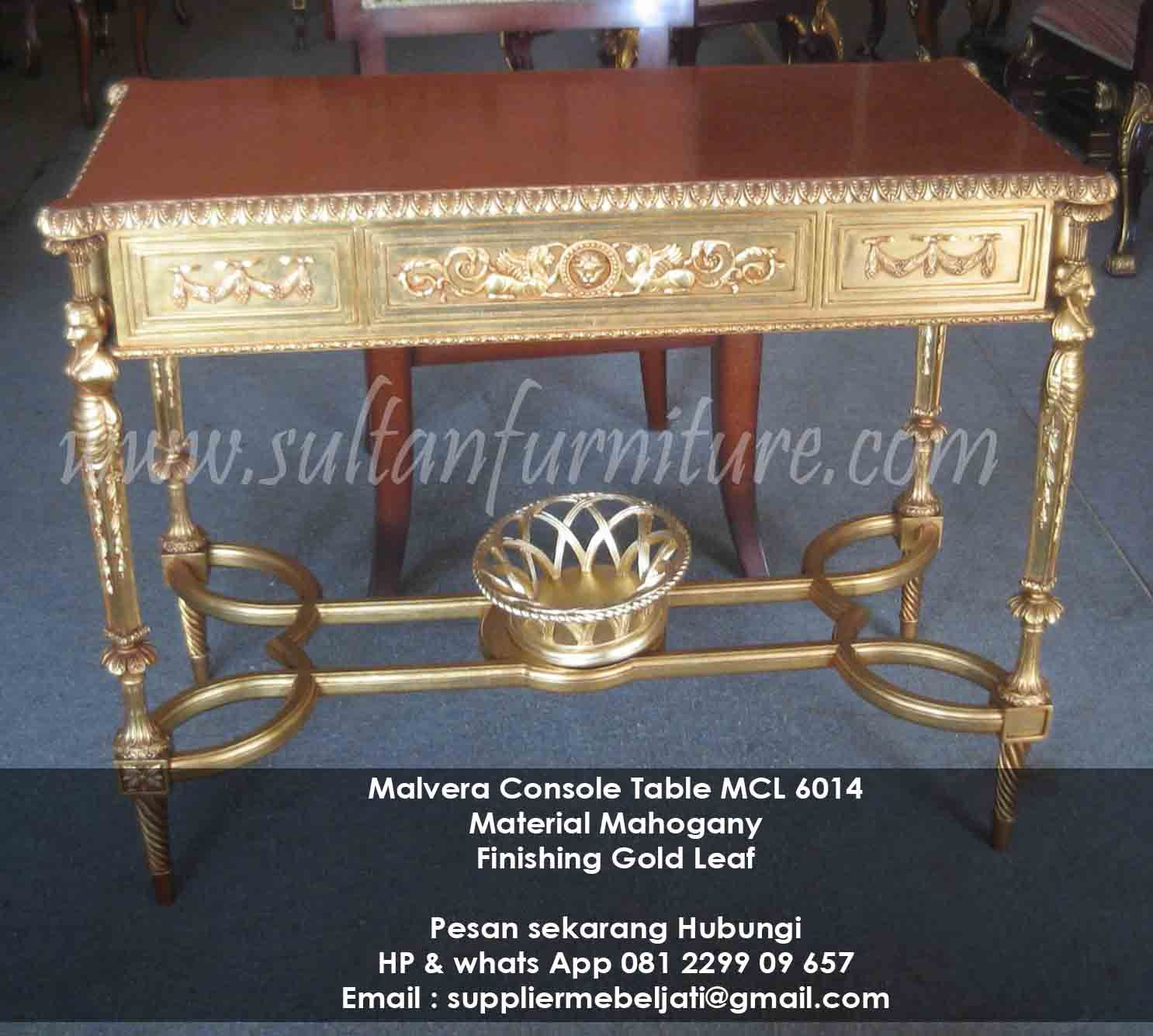 Meja Konsole Ukir Malvera Furniture Klasik Modern Style Jepara  # Tofteryd Meuble Tv