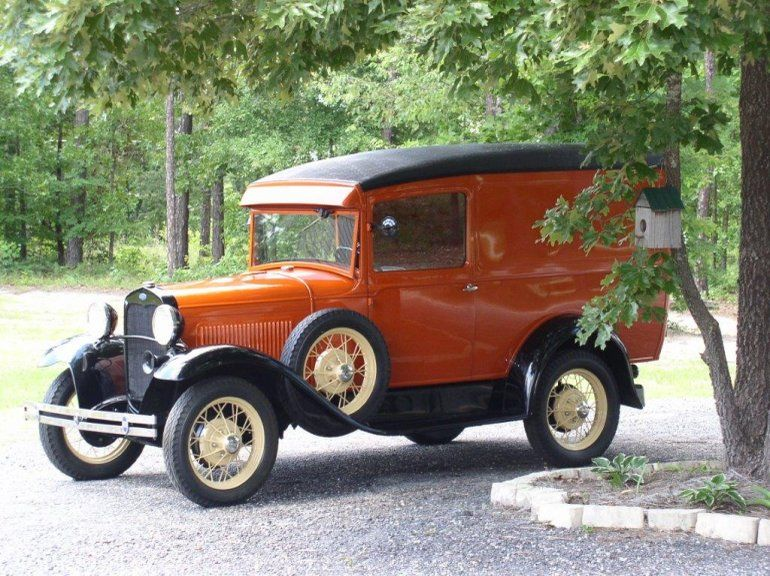 1930 ford model a panel delivery ford model a for West chevrolet airport motor mile