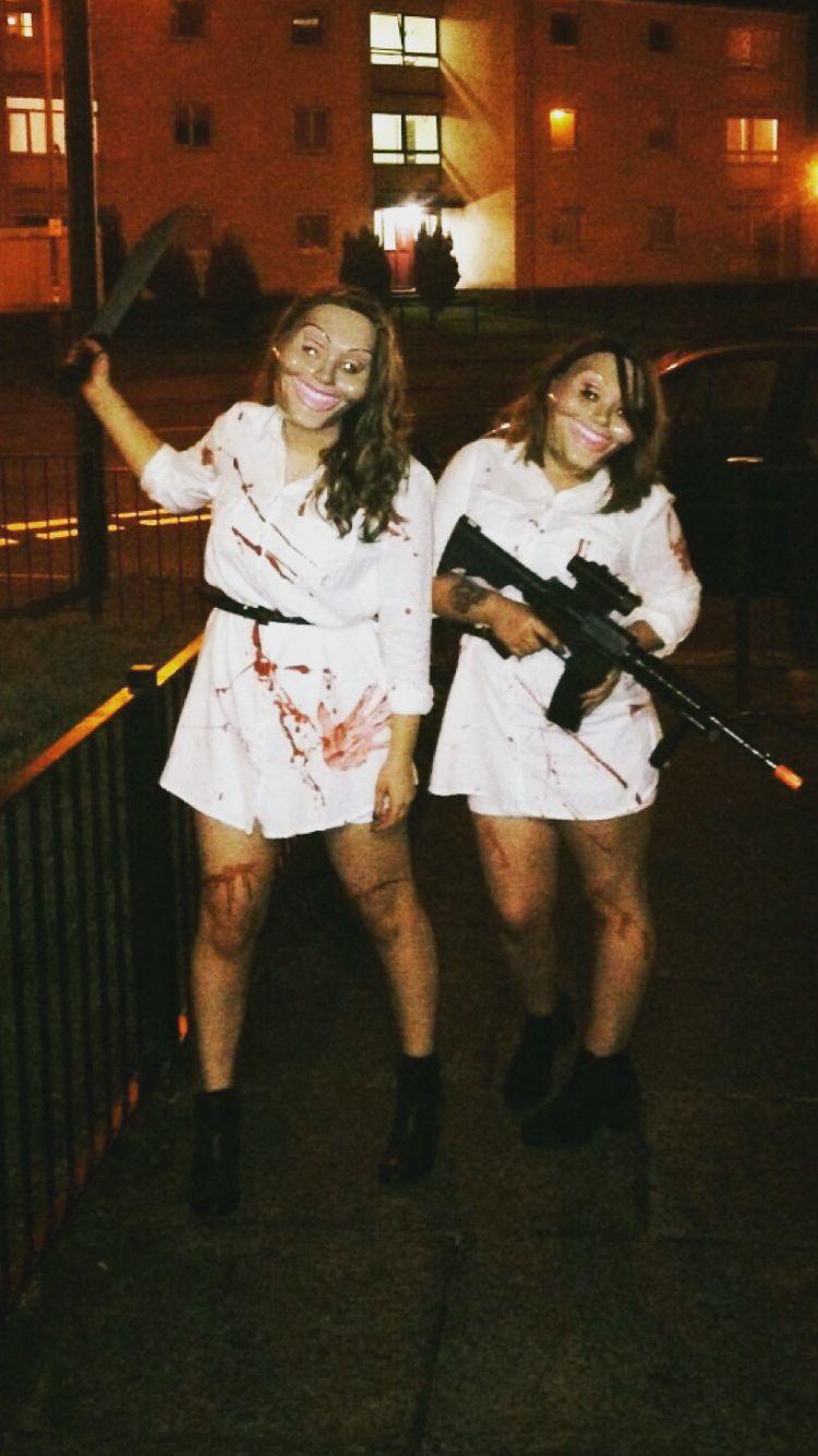 Couple Halloween Costume Idea The Purge | Fashion | Pinterest ...