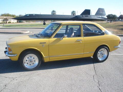 71 Toyota Corolla replaced my first car Got great gas mileage and