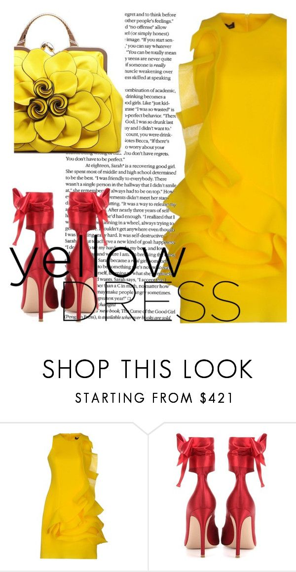 """Untitled #4830"" by julinka111 ❤ liked on Polyvore featuring Amaya Arzuaga and Gianvito Rossi"