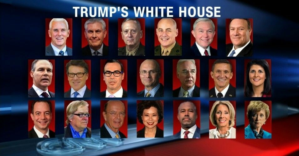 Most, if not all, of Donald Trump's cabinet nominees appear to have been chosen largely for their desire to dismantle whatever agency or department will be in their care or to undermine the major tasks it is to carry out. (Image: CNN)
