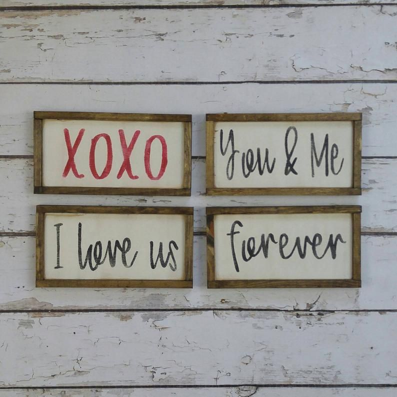 Budget-Friendly Farmhouse Valentine's Day Decor - A Hundred Affections