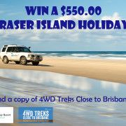Win a Fraser Island Holiday for the launch of 4WD Treks Close to Brisbane! #kingfisherbay #qld4wd #fraserisland #bluedogphotography