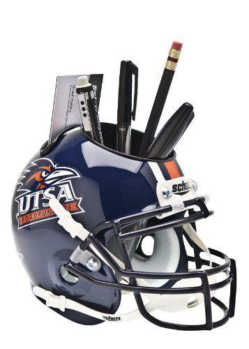 83a8b1f7 UTSA Football Helmet Desk Organizer | Random Stuff | Football ...
