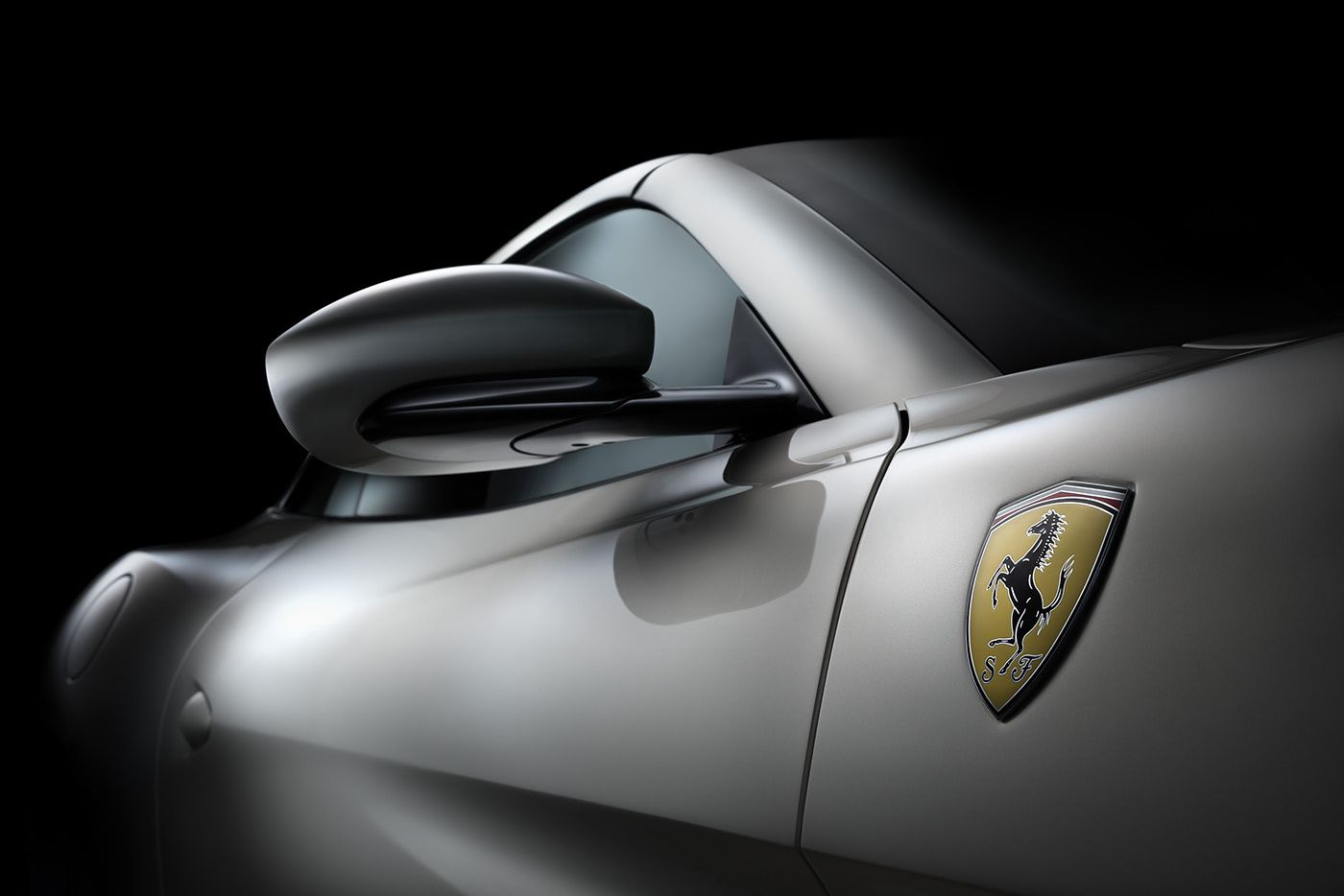Ferrari portofino driven magazine on behance white