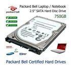 750GB 6.3cm SATA Festplatte Upgrade Ersatz Für Packard Bell Easynote TE11BZ