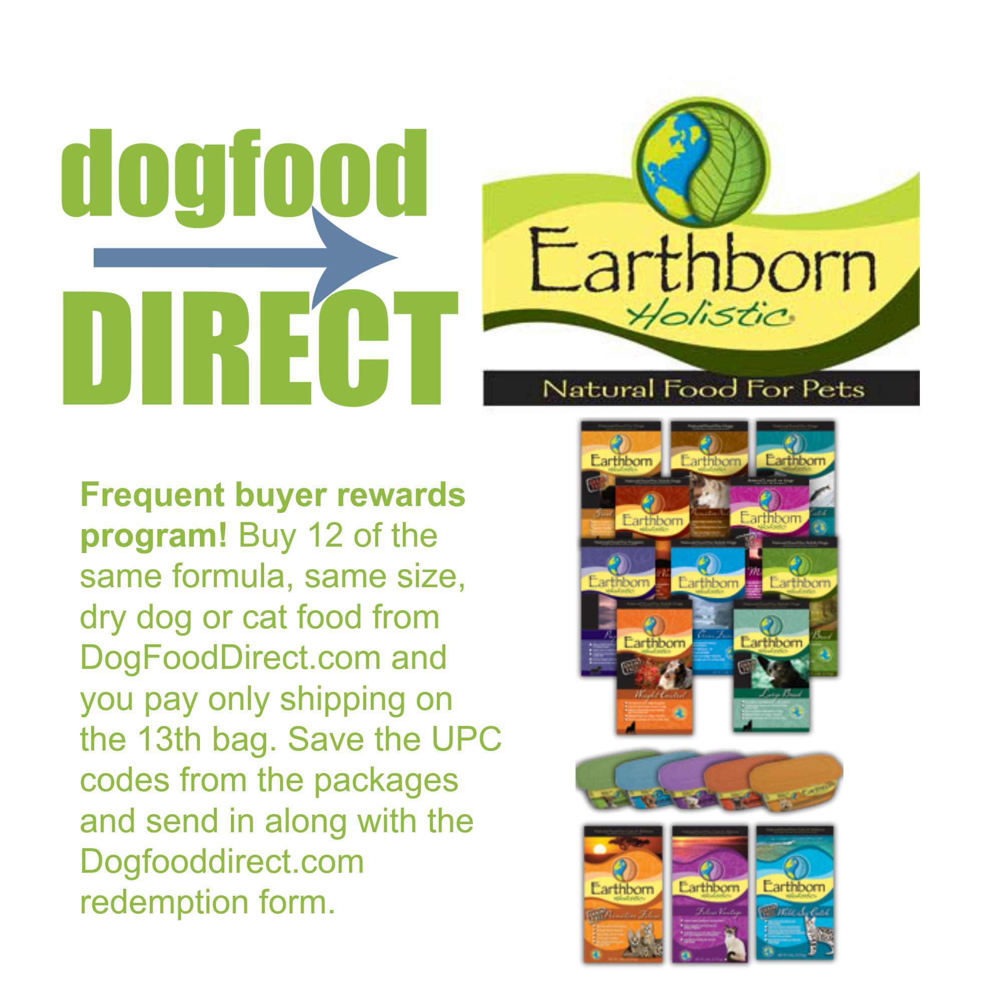 Earthborn Holistic® Natural Pet Food Earthborn Holistic