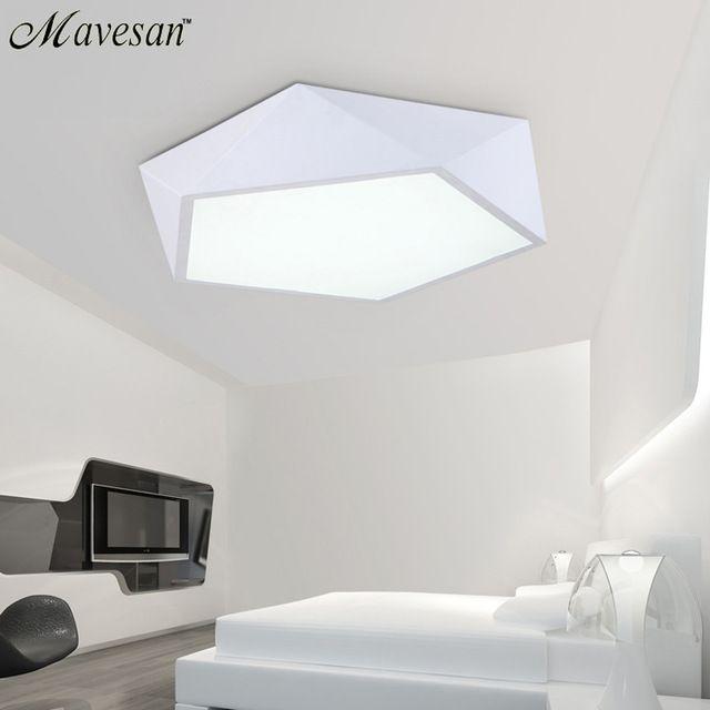 Led Éclairage Plafond Chambre Lampe Moderne Luminaire uclFK3JT1