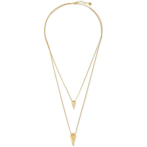 Jules Smith Shark Tooth Layered Necklace