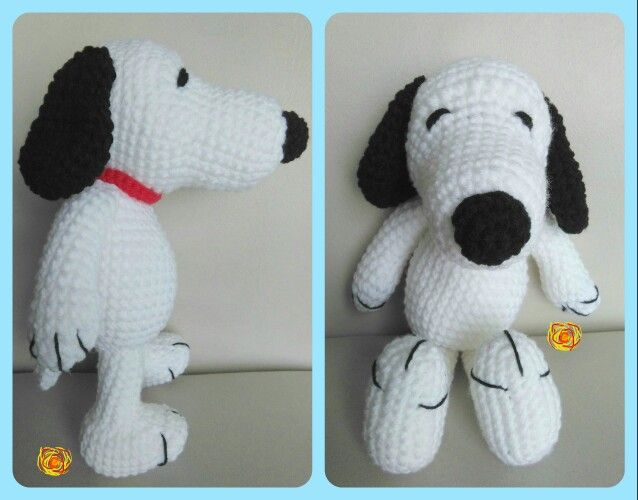 Amigurumi Patterns Snoopy : Snoopy tejido a crochet bruma creativa pinterest