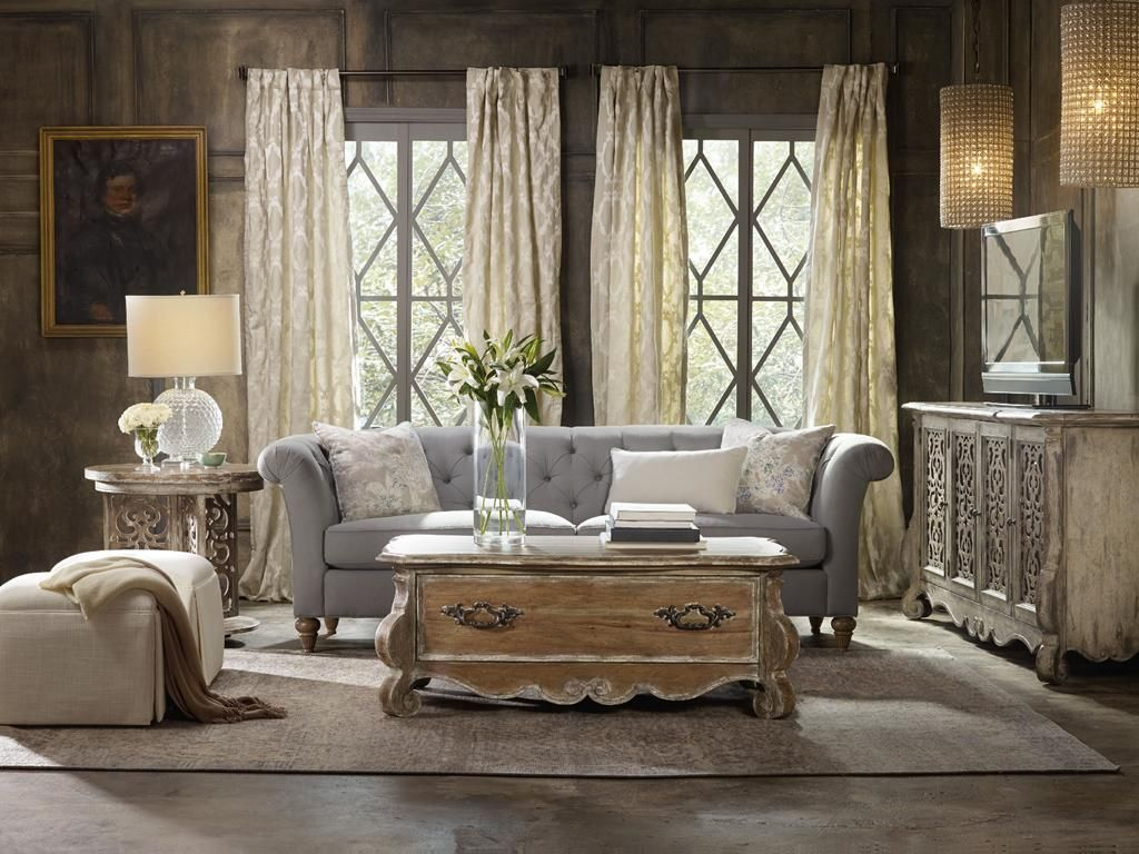 Etonnant Fascinating New Orleans Home Decor Plan. Come Home To Your Little Castle  With The Chatelet Collection From Www.hookerfurniture.com