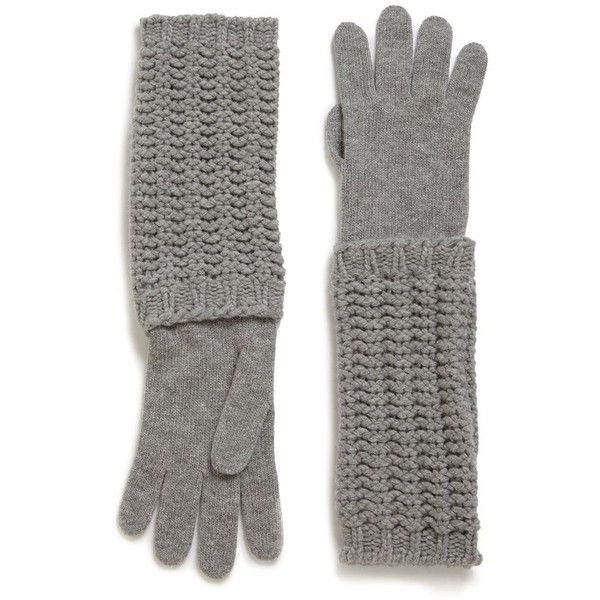 moncler gloves grey